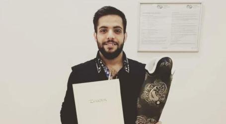 عبد الغفار لاجئ سوري من أمهر صناع الأطراف الاصطناعية في ألمانيا
