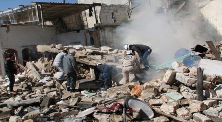الدفاع المدني السوري يوثق الجرائم الروسية منذ بدء تدخلها المباشر في سوريا