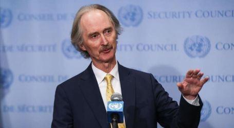 بيدرسون والمعلم يبحثان عدة قضايا في دمشق أبرزها اللجنة الدستورية