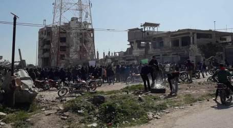 درعا تشهد معارك وتدمير حواجز وأسر عناصر بين قوات تابعة لروسية وأخرى لإيران