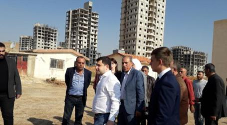 مسؤول روسي يزور ضاحية الديماس بريف دمشق وينتقد السلطة السورية