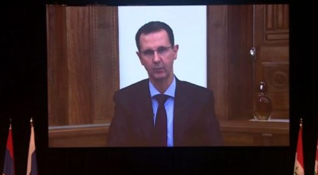 بشار الأسد يقول إن قضية اللاجئين مفتعلة وتخضع لاستثمار سياسي