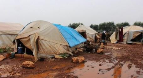 مخيمات شمال غرب سوريا تتضرر بسبب الأمطار ومناشدات لمساعدة النازحين