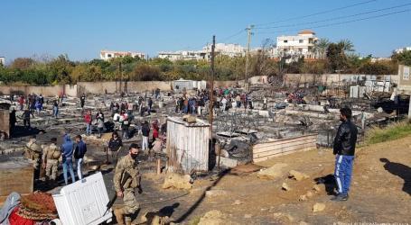 وفد للسلطة السورية يزور مخيم المنية شمال لبنان.. فما سر الاهتمام بالمخيم المحروق؟
