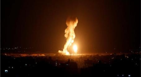 انفجار ضخم في خزانات على الحدود السورية – اللبنانية يوقع جرحى