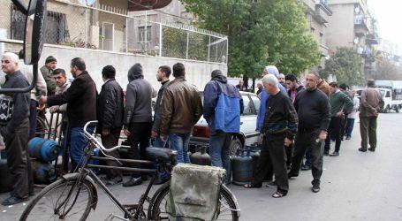 دمشق … وحلم المواطنين بالحصول على الخبز ومواد التدفئة والكهرباء