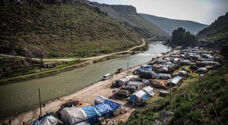 600 عائلة تتضرر بسبب الأمطار شمالي سوريا وارتفاع منسوب العاصي يهدد النازحين