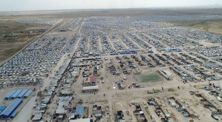 """حملة أمنية ضخمة لـ""""قسد"""" في مخيم الهول بالحسكة"""