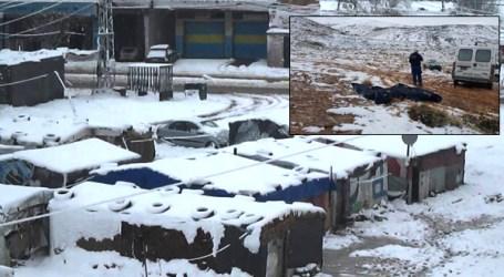 سوريون يتجمدون في لبنان بسبب البرد الشديد
