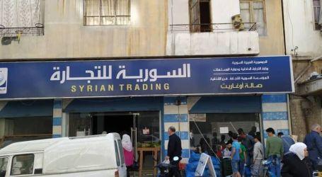 ازدحامات ومشاكل وفقدان مواد في صالات السورية للتجارة