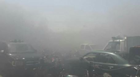 حريق في مرآب الحجز التابع لمديرية جمارك حمص يثير شكوك الموالين