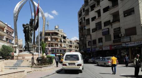 جرمانا بريف دمشق تدعم الأسد في الانتخابات بالترهيب والإجبار