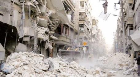 القاطرجي يوزع مساعدات في حلب من أجل انتخاب بشار الأسد