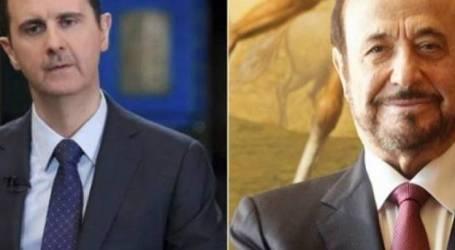 رفعت وبشار الأسد في مرمى نيران أحد أبناء العائلة مجددا