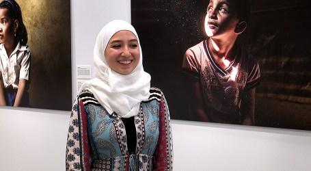 مايا غزال….. أول لاجئة سورية تحصل على رخصة قيادة الطائرات