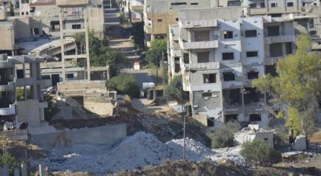 حصار السلطة السورية وروسيا ينذر بأوضاع كارثية في درعا البلد