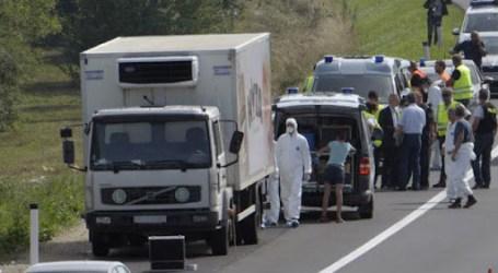القبض على 18 لاجئا سوريا ضمن شاحنة في ألمانيا