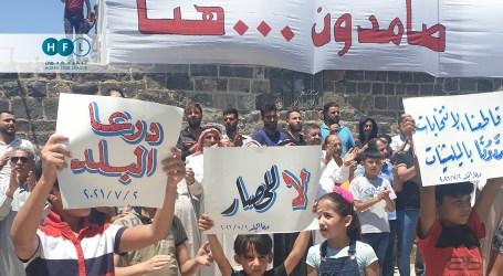 درعا.. القصف مستمر ولبنانيون يشاركون في الحملة العسكرية على المنطقة