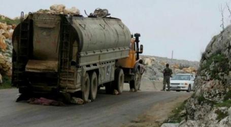 عشرات الصهاريج المحملة بالوقود تتجهة من سوريا إلى لبنان بحماية الفرقة الرابعة