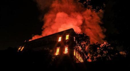 حريق في ريف دمشق يلتهم منزلا وأربعة أطفال