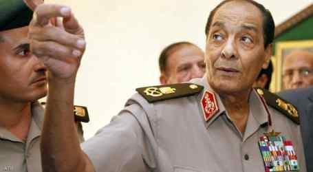 وفاة وزير الدفاع المصري السابق المشير حسين طنطاوي