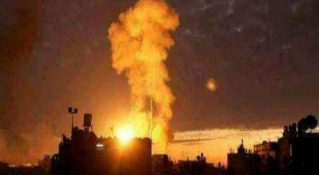 خسائر بشرية ومادية للميليشيات الإيرانية بالقصف المجهول غرب الفرات