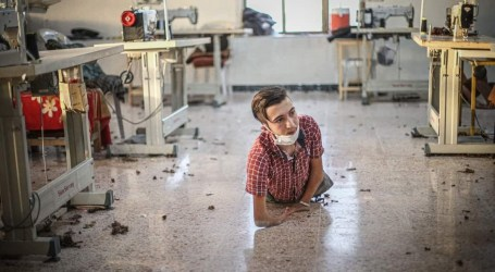 أحمد ديوب.. شاب سوري يتحدى الظروف ويعيش وحيدا يرعى جده