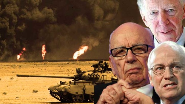 Cheney-murdock-Rothschild-börja borrning-for-olja