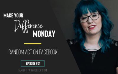 #MYDM Episode 01: Random Act On Facebook