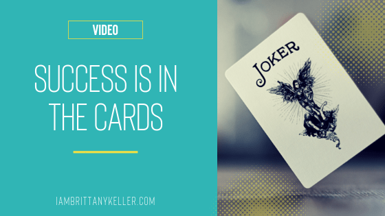 Video: Success Is In The Cards