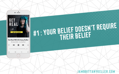 #1: Your belief doesn't require their belief