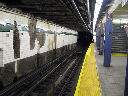 Subway Station Falling Apart