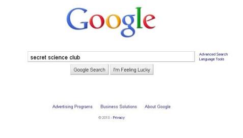 Secret Science Club