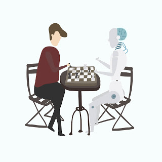 Illustration of ai avatar