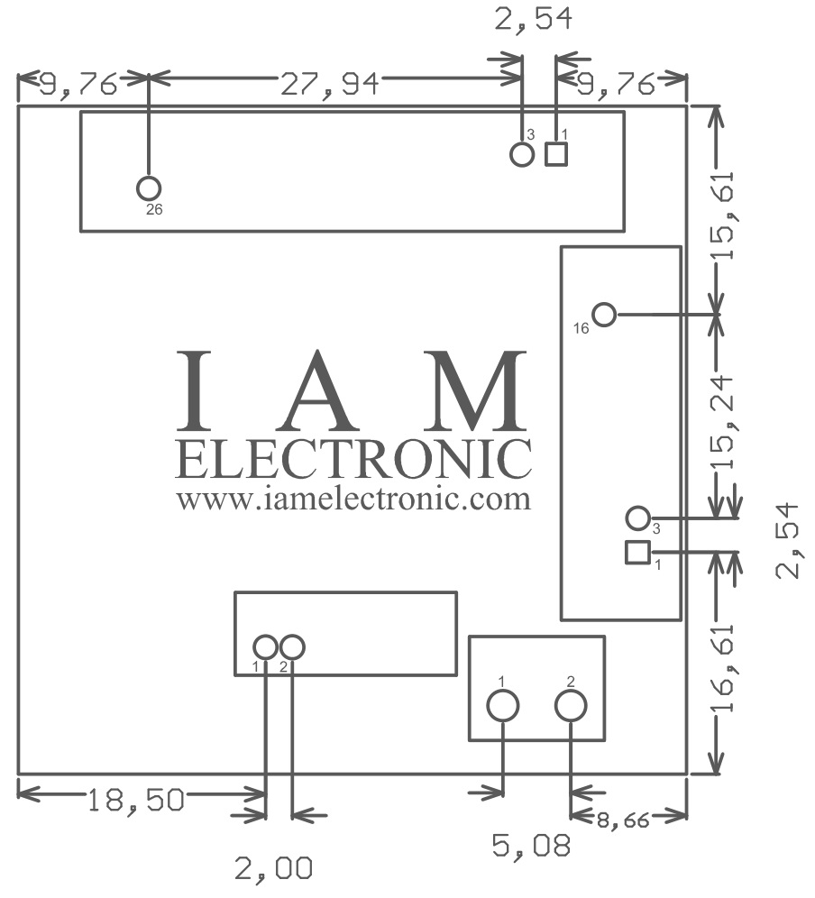 hight resolution of tiny fpga module mechanical dimensions connectors