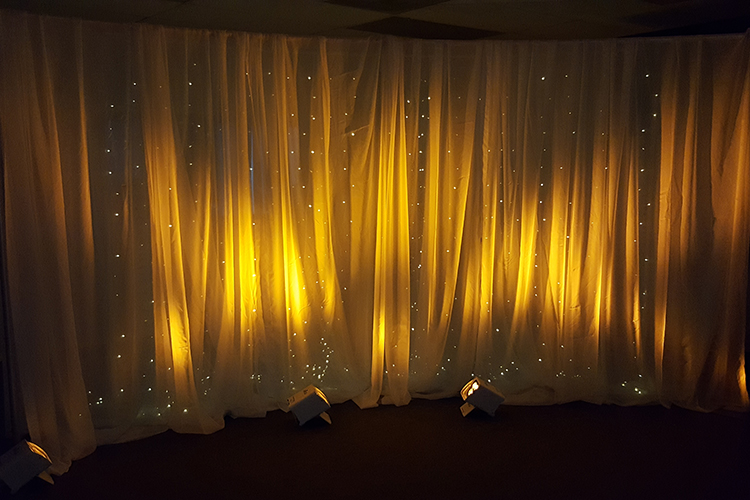 Pipe Amp Drape Pipe Amp Drape Backdrop WLight Curtain 12