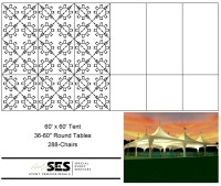 Tents : Marquee Tent: 60' x 60'