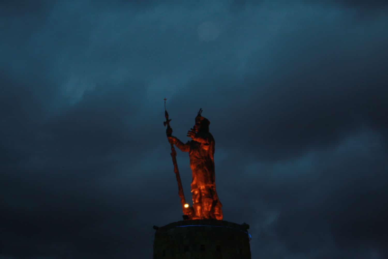 Inca statue