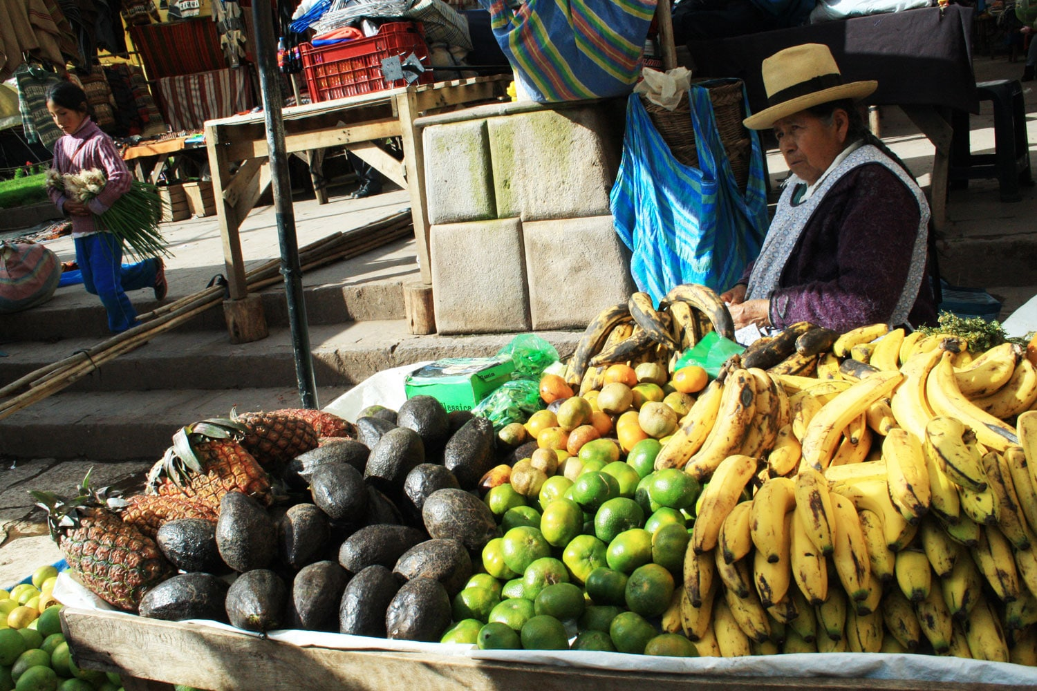 Pisac Fruit Market