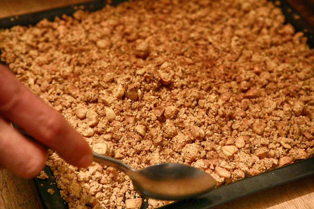 granola tray