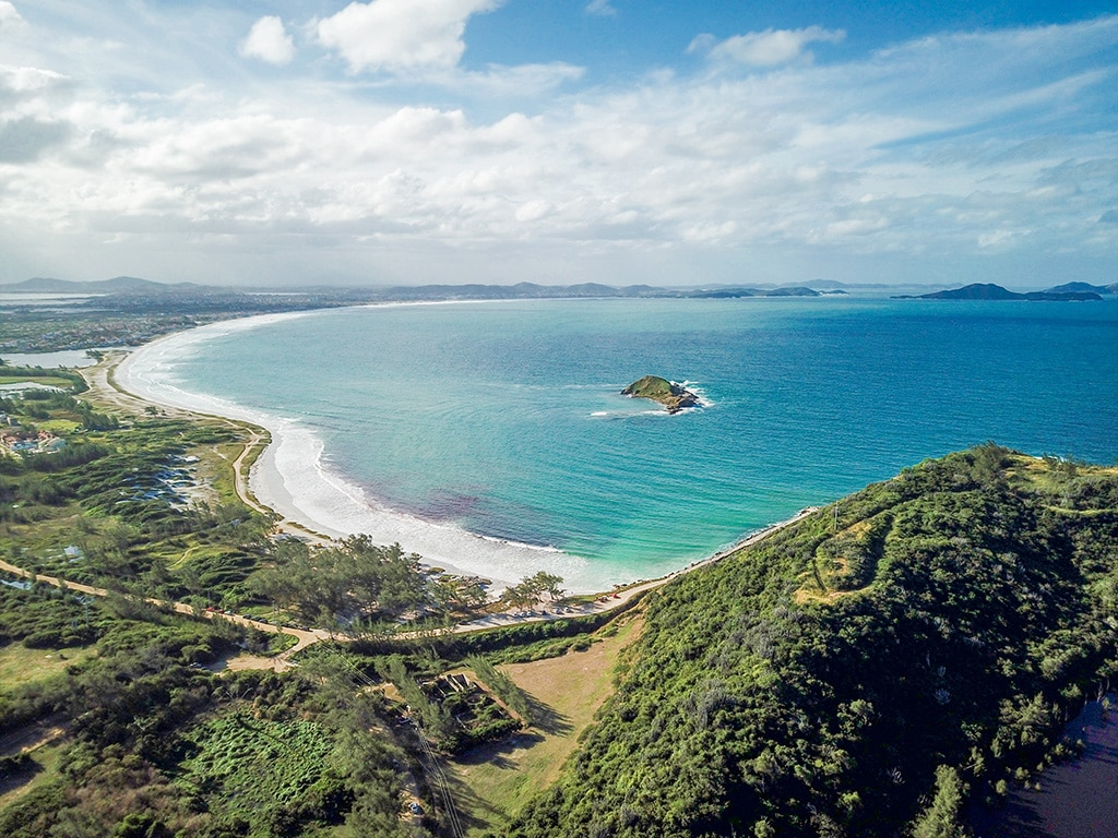 Arraial Do Cabo Drone view
