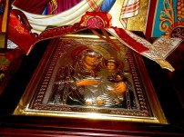Church of the Holy Sepulchre – icon Virgin Mary and Jesus