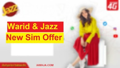Photo of Warid and Jazz New Sim Offer