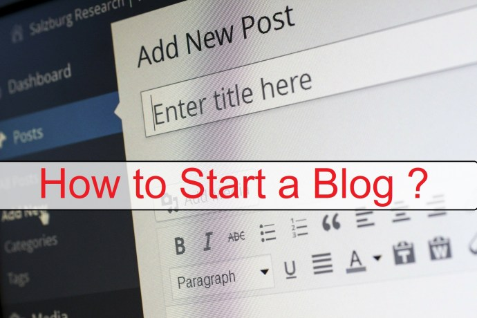Start a Wordpress Website