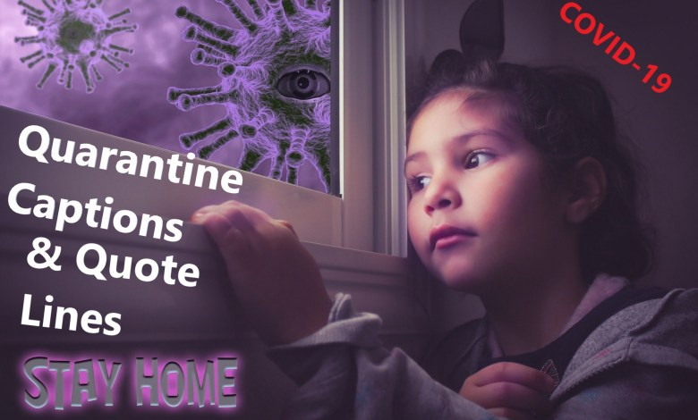 Photo of 99 Quarantine Captions, Quotes Lines For Social Distancing (COVID-19)