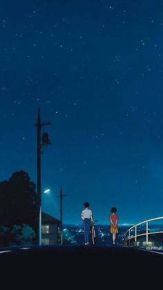 Lover In MidNight Walking aesthetic wallpaper