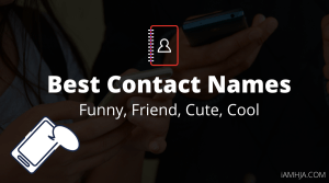 Best Contact Names