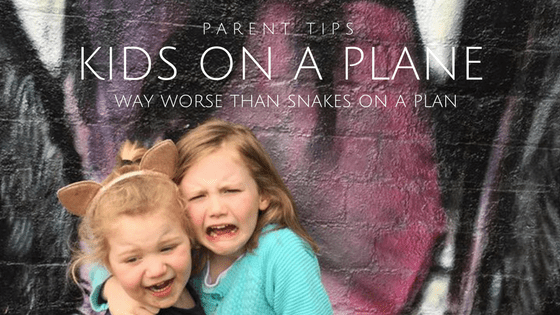 Kids on a Plane (way worse than Snakes on a plane!)