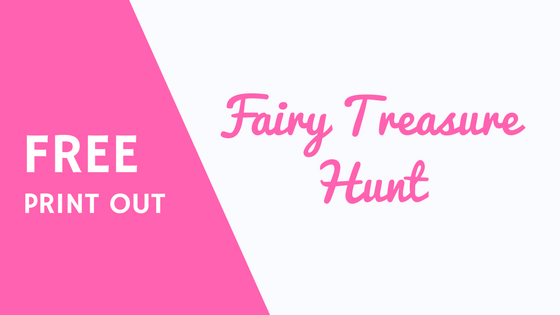 Fairy Day treasure hunt