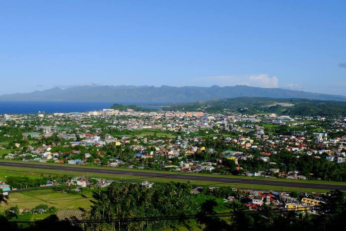View of Legazpi Airport from Ligñon Hill
